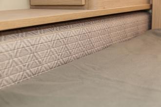 Dicar Cocoon Bed/garage afsluitsysteem met lamellen