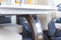 Dicar Carat Design tafelpoot met LED verlichting